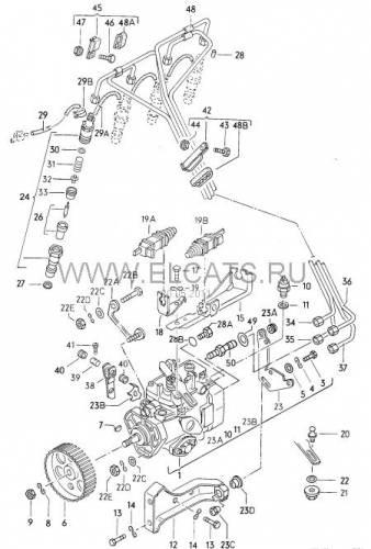Схема тормозной системы ауди